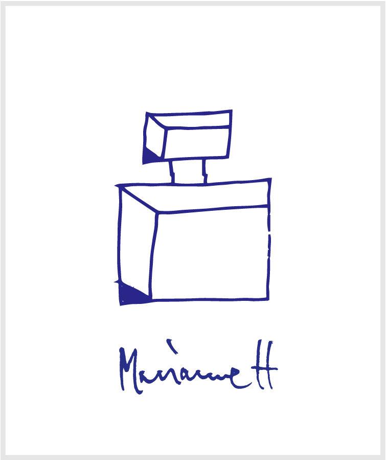マリアンヌ・ハルバーグのイラスト